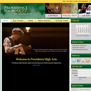 Providence High Arts