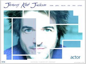 JeremyKentJackson.com an actor evolves